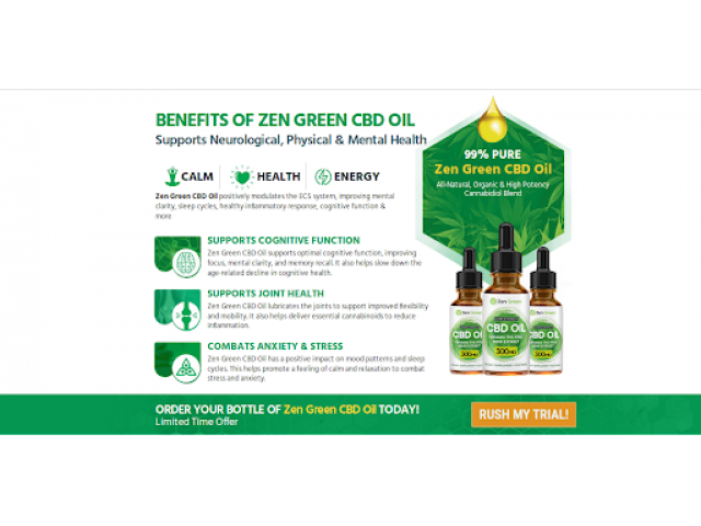 Free Trail >> https://listofdiet.com/zen-green-cbd/